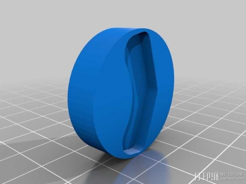 DIY磁力搅拌器 3D模型  图4