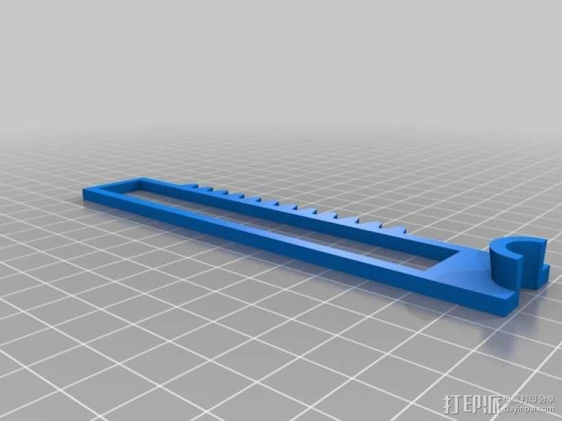 迷你CNC设备 3D模型  图3
