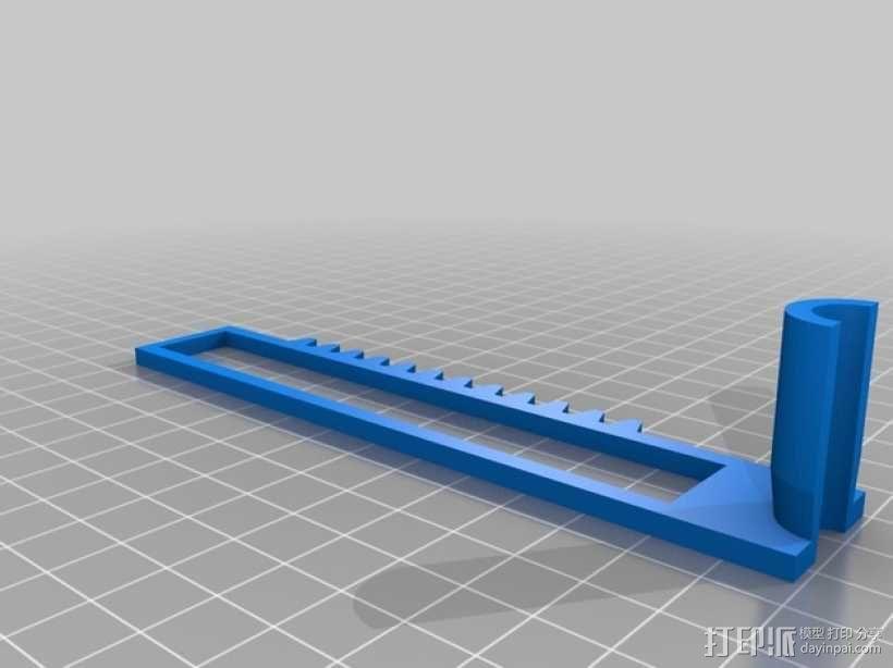 迷你CNC设备 3D模型  图2