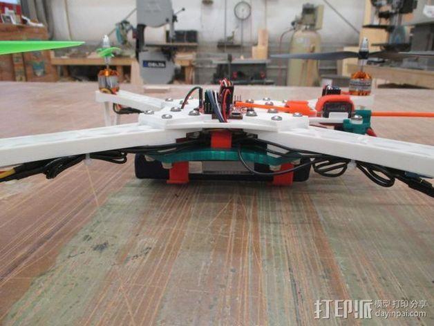 """""""鸽子""""四轴飞行器 3D模型  图2"""