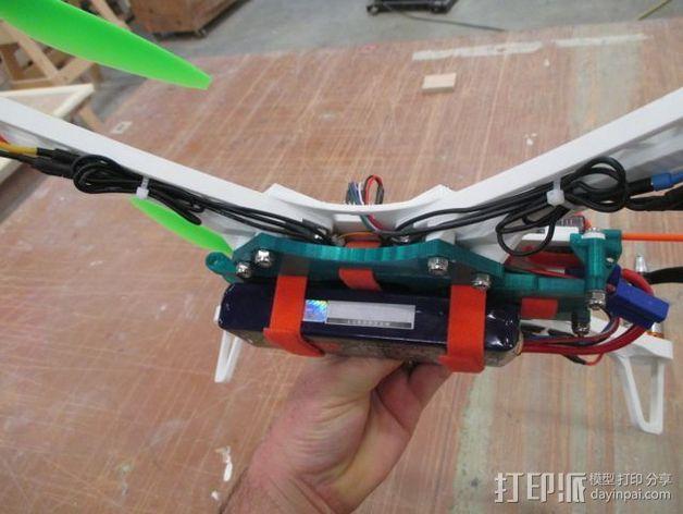 """""""鸽子""""四轴飞行器 3D模型  图3"""
