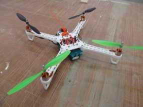 """""""鸽子""""四轴飞行器 3D模型"""