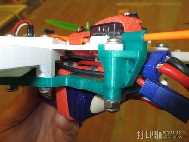 """""""鸽子""""四轴飞行器 3D模型  图4"""