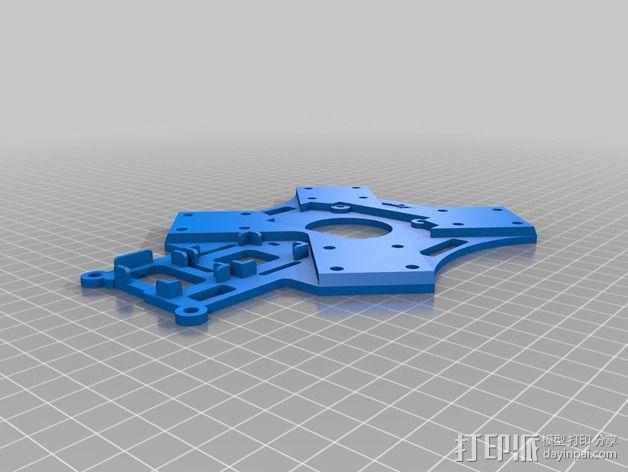 """""""鸽子""""四轴飞行器 3D模型  图5"""