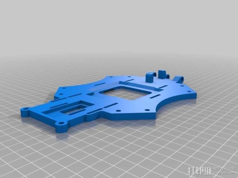 """""""鸽子""""四轴飞行器 3D模型  图6"""