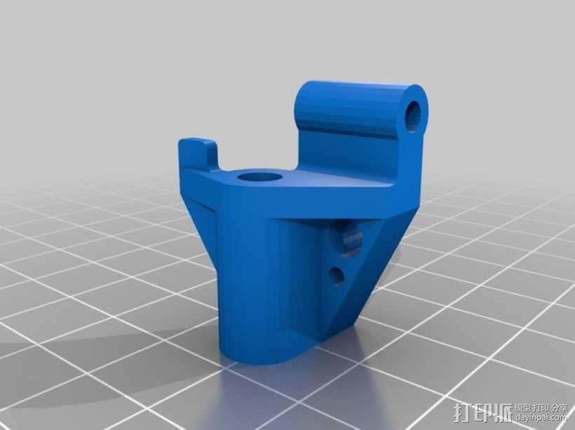 """""""鸽子""""四轴飞行器 3D模型  图7"""