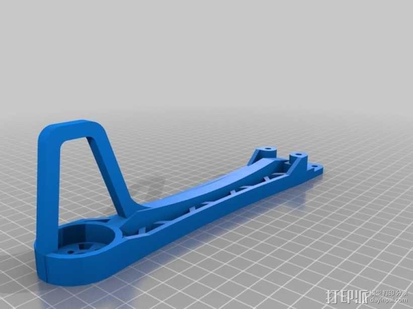 """""""鸽子""""四轴飞行器 3D模型  图8"""