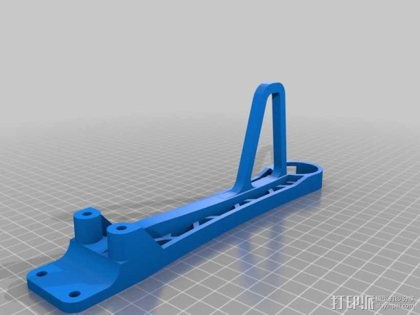 """""""鸽子""""四轴飞行器 3D模型  图9"""
