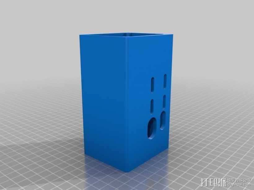 RAMPS 1.4电路主板外壳 3D模型  图4