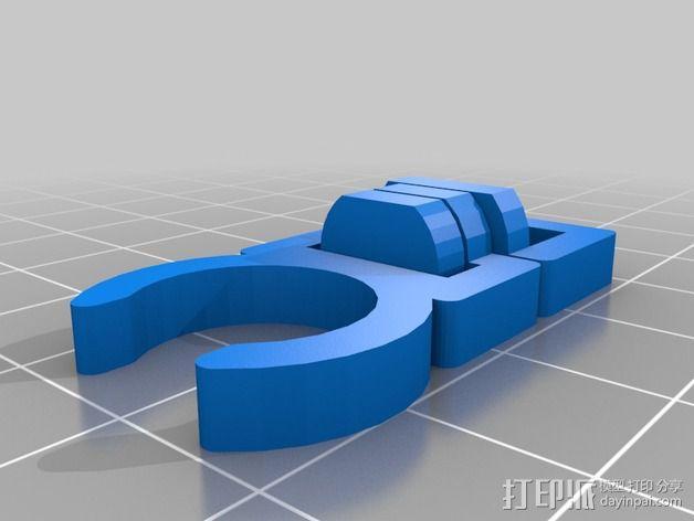 潜水软管夹 3D模型  图2