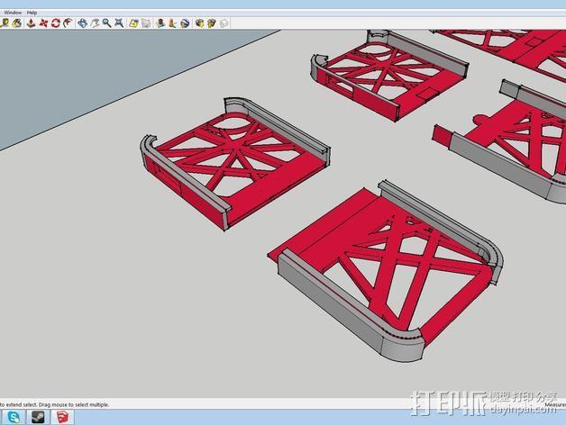 iPod touch 5外壳 3D模型  图2