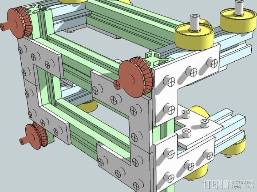 CNC设备框架 3D模型  图7