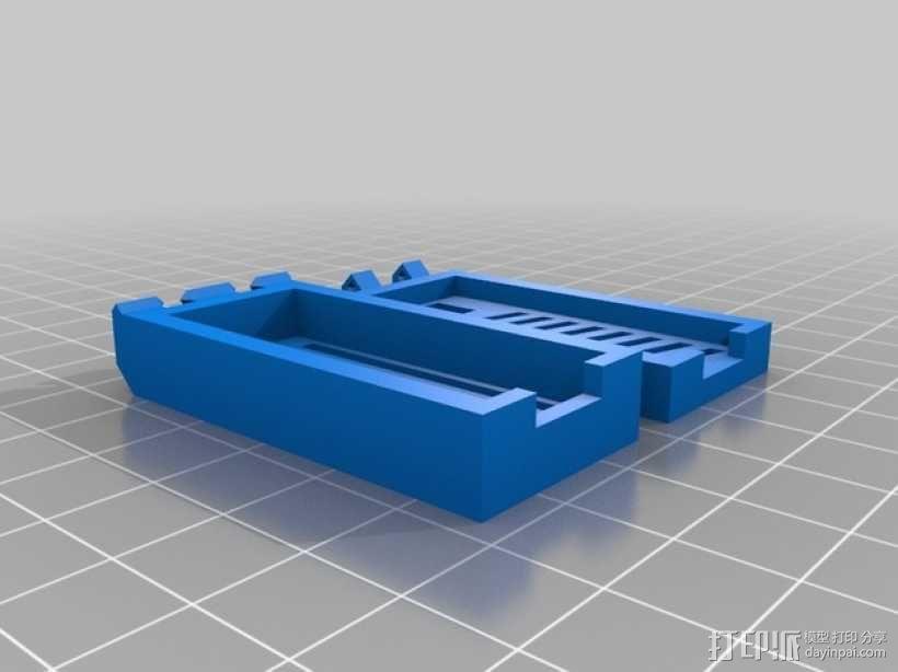 Arduino Nano试验电路板外壳 3D模型  图1