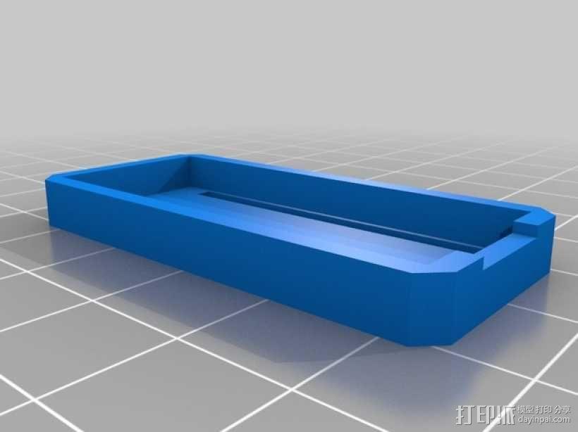 Arduino Nano试验电路板外壳 3D模型  图2