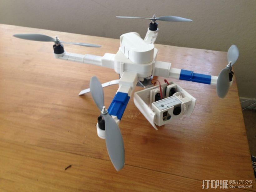 常平架 起落架 3D模型  图1