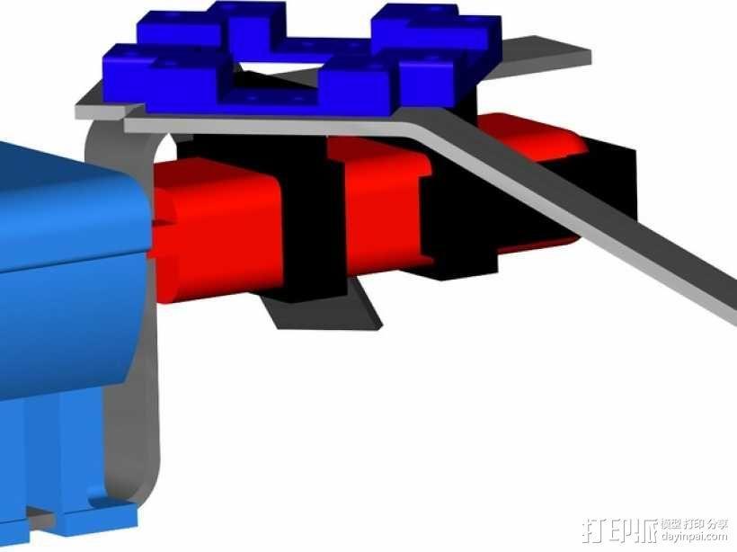 常平架 起落架 3D模型  图4