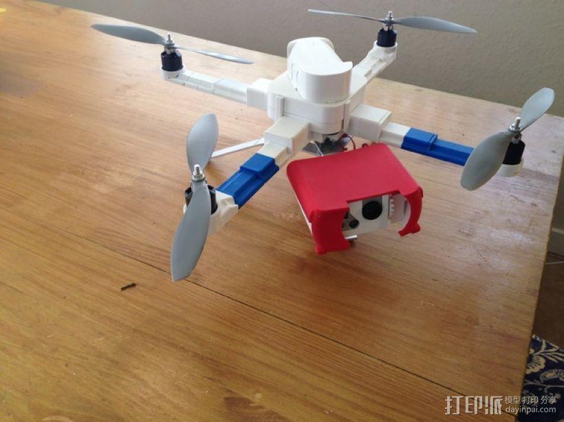 常平架 起落架 3D模型  图5