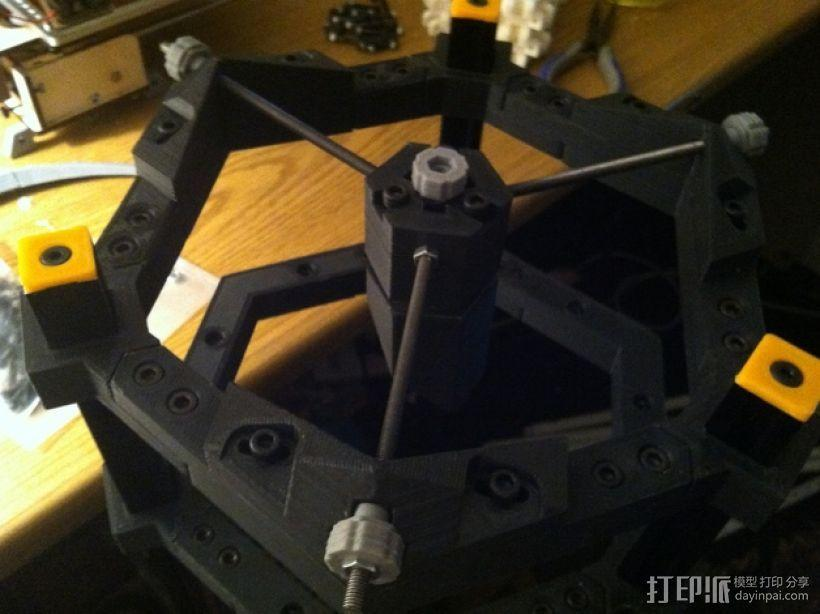 道布森望远镜 3D模型  图1
