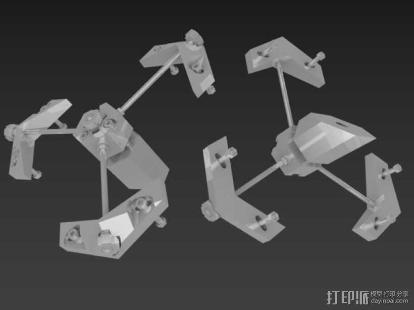 道布森望远镜 3D模型  图6