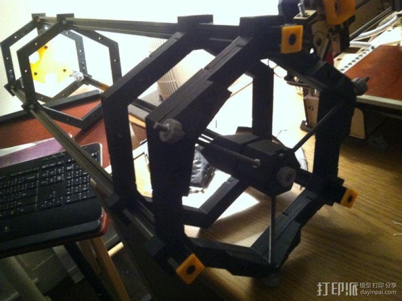 道布森望远镜 3D模型  图3