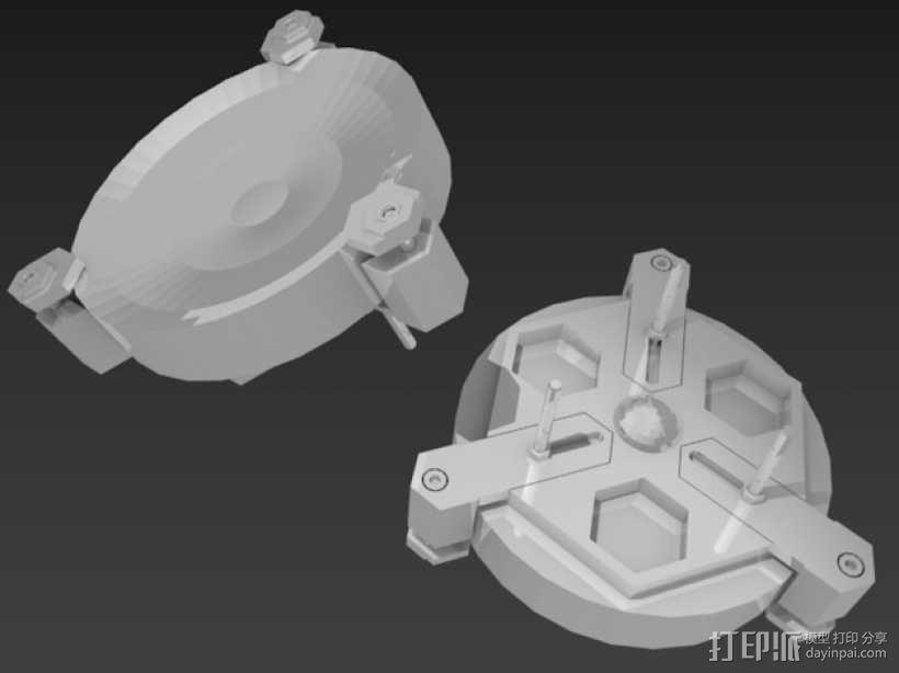 道布森望远镜 3D模型  图7