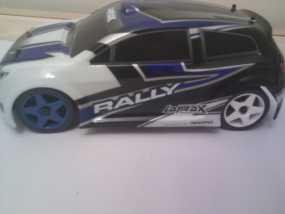 Latrax Rally遥控赛车漂移轮胎 3D模型