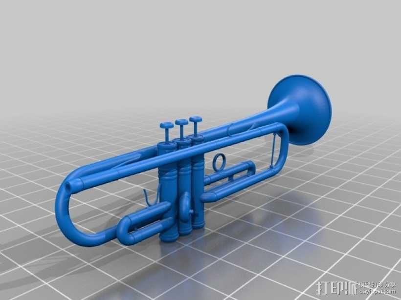 小号 3D模型  图1