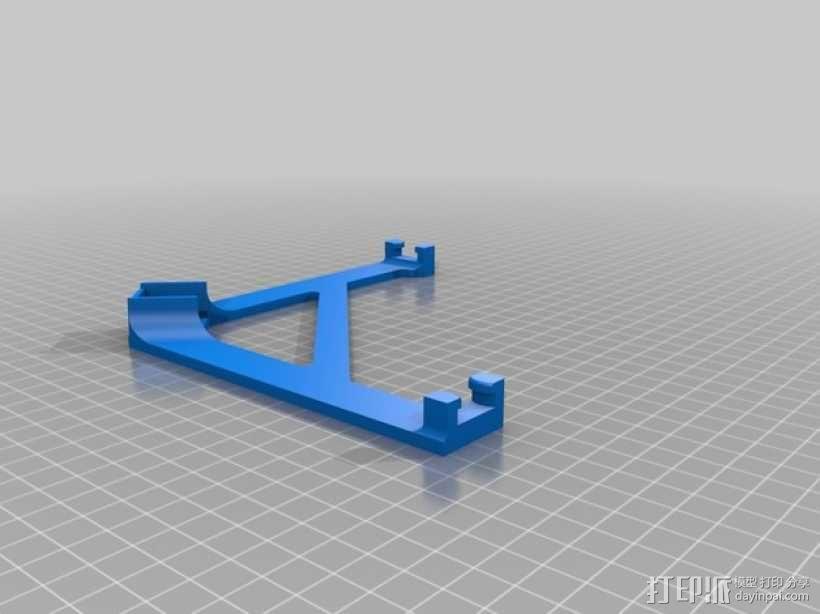 无人机 四轴飞行器 3D模型  图3