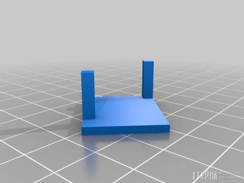 无人机 四轴飞行器 3D模型  图2
