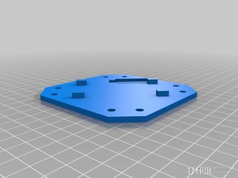 无人机 四轴飞行器 3D模型  图14