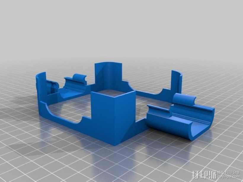 无人机 四轴飞行器 3D模型  图17