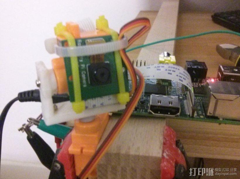 迷你伺服器支架 3D模型  图2