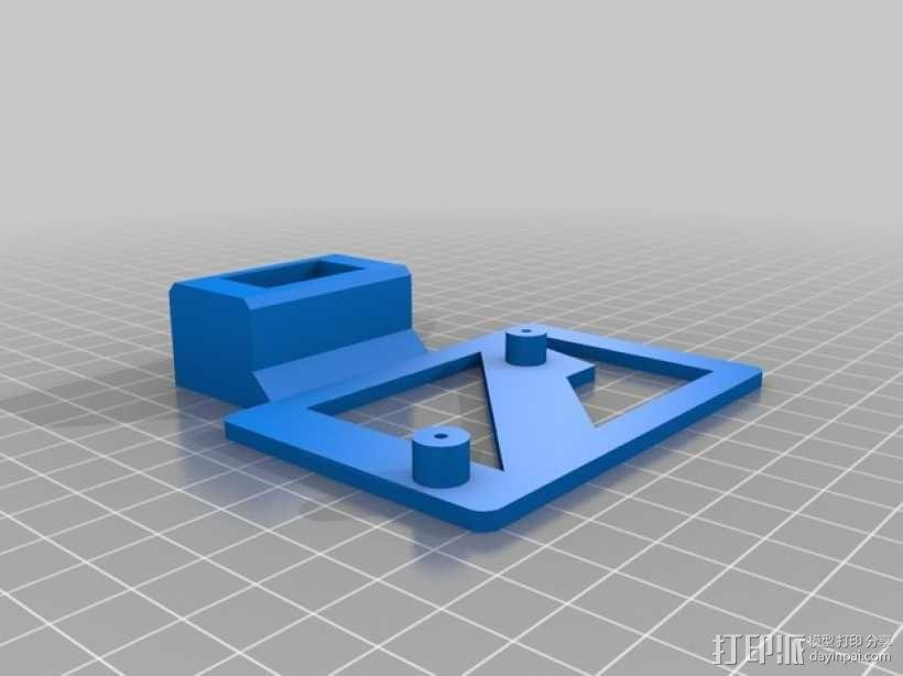 迷你伺服器支架 3D模型  图3