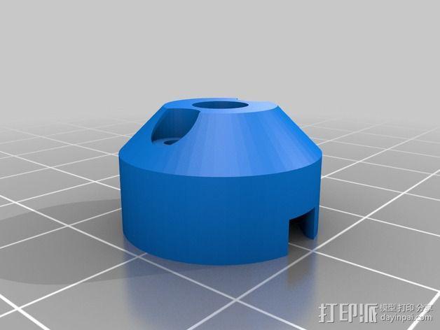5毫米LED灯底座 3D模型  图9