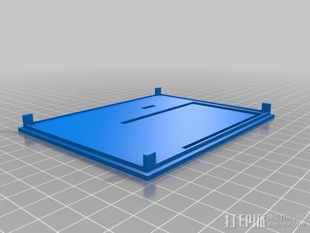 定制化UDOO主板外壳 3D模型  图3