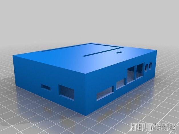 定制化UDOO主板外壳 3D模型  图4