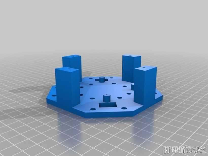 Crossfire四轴飞行器 3D模型  图5