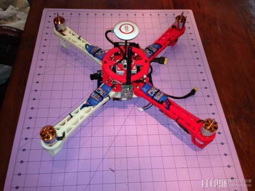 Crossfire四轴飞行器 3D模型  图9