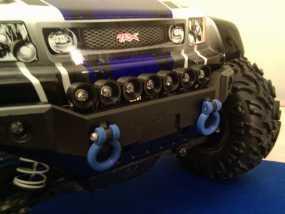 Traxxas遥控越野车保险杠零部件 3D模型