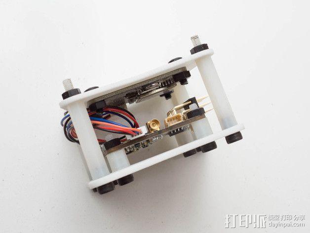 飞行控制器安装板 3D模型  图3