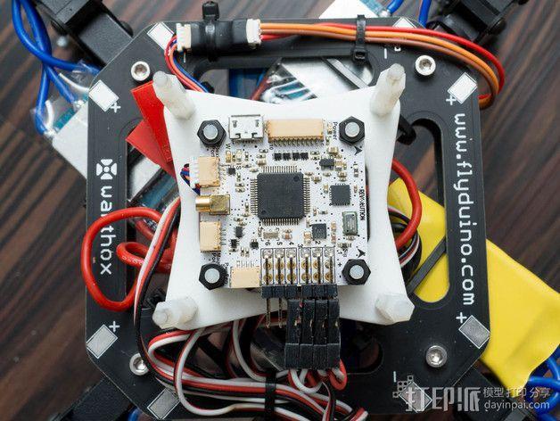 飞行控制器安装板 3D模型  图7