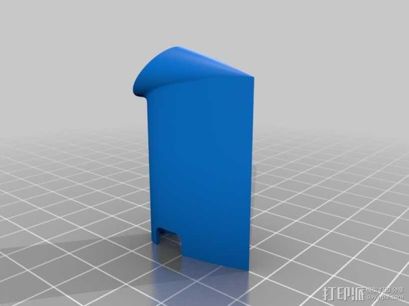 Omnimac 3DR皮托管支架 3D模型  图2