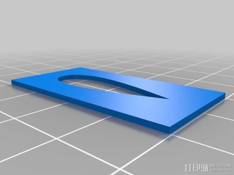 Omnimac 3DR皮托管支架 3D模型  图4