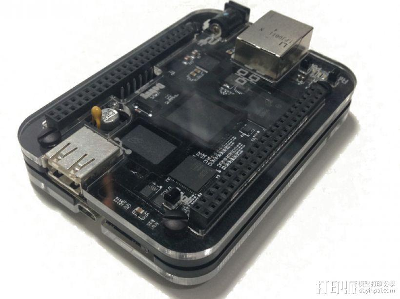 BeagleBone Black电路板外壳 3D模型  图9