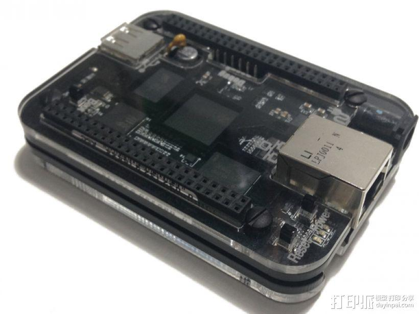 BeagleBone Black电路板外壳 3D模型  图11