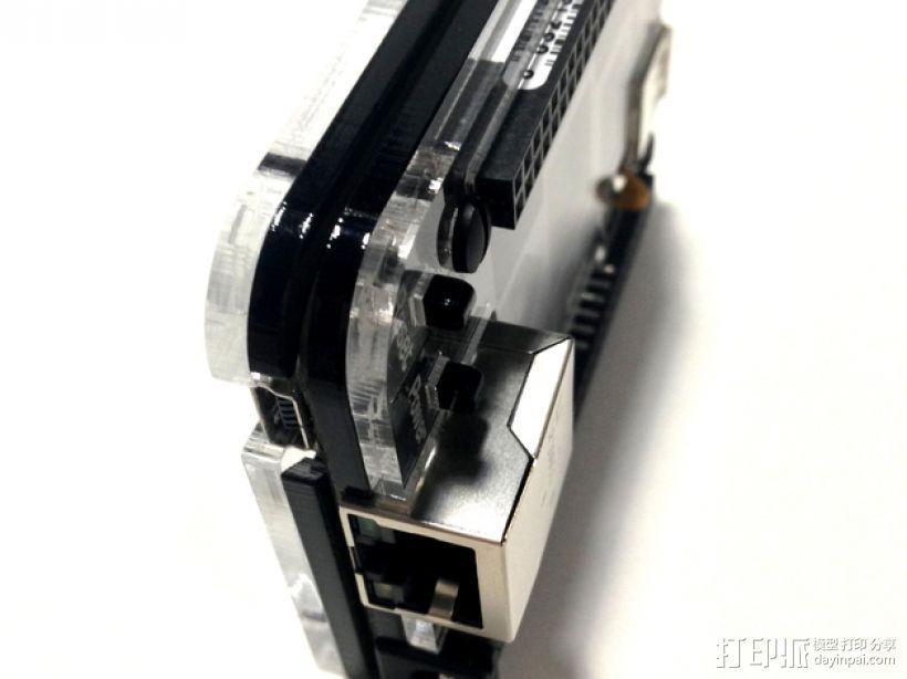BeagleBone Black电路板外壳 3D模型  图12