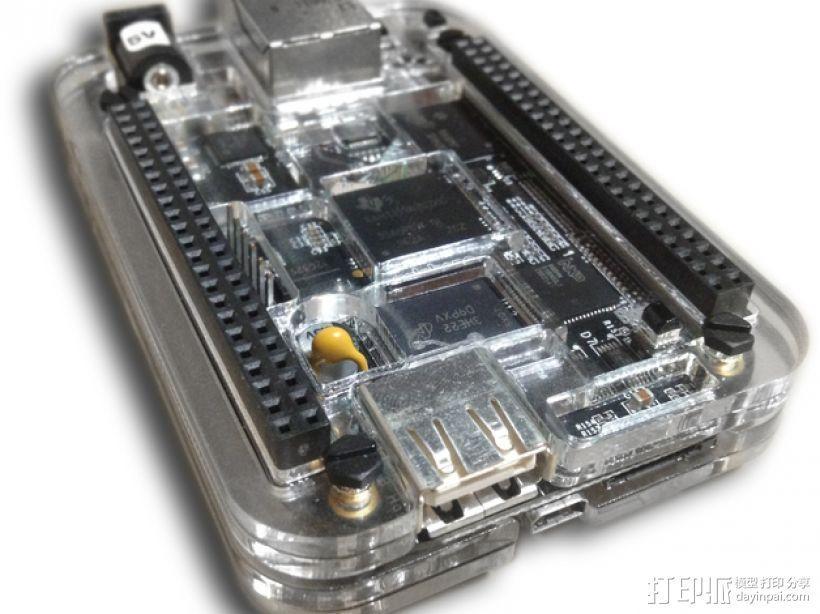 BeagleBone Black电路板外壳 3D模型  图16