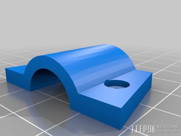 Turnigy Talon四轴飞行器 发动机架  3D模型  图4
