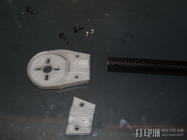 Turnigy Talon四轴飞行器 发动机架  3D模型  图6