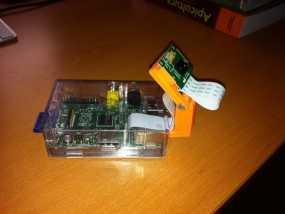 树莓派相机 模块化支撑臂 3D模型